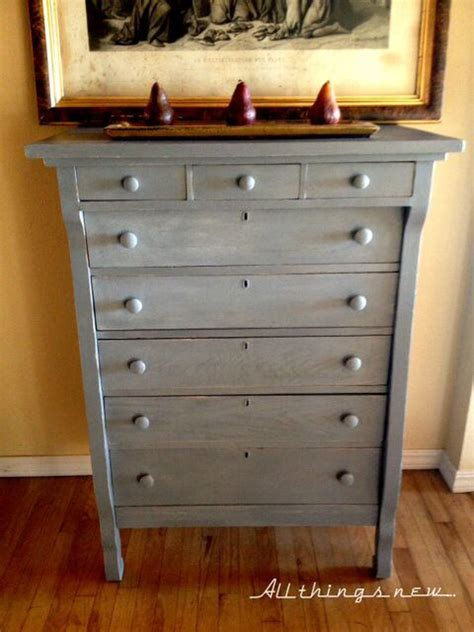 chalk paint grey dresser pin by miss pris on ascp gray