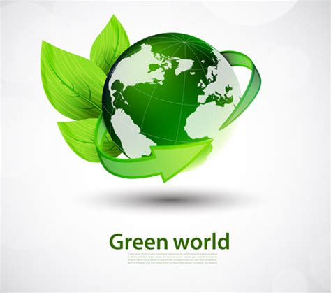 green world green world and eco background vector 01 vector