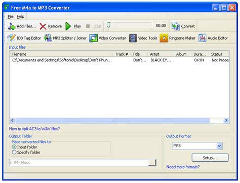 mp3 converter free m4a to mp3 converter