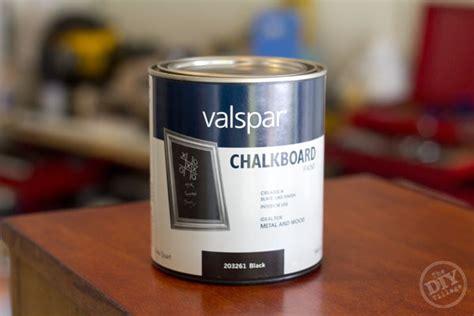 chalk paint lowes valspar how to make a workshop chalkboard