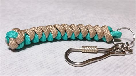 how to make a keychain with 20 diy paracord keychains with guide patterns