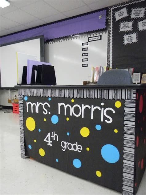 4th grade ideas 4th grade desk decoration idea myclassroomideas