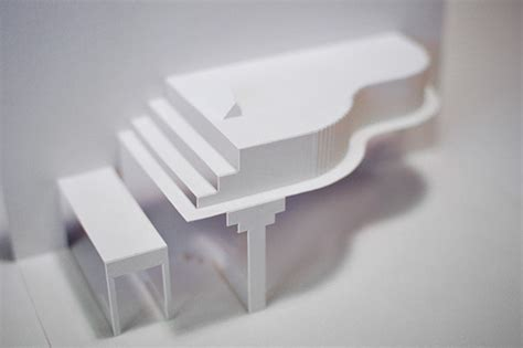 how to make a origami pop up card origami piano pop up greeting card on behance