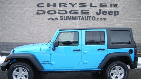 paint colors unlimited sold 7j150 2017 jeep wrangler unlimited 4x4 chief blue
