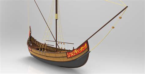 ottoman trade ottoman coastal trade ship rhino 3d cad model grabcad