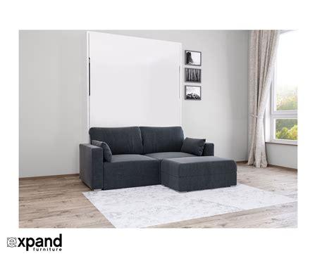 wall beds with sofa murphysofa minima sectional expand furniture folding