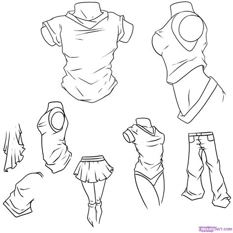 how to draw hoodies tutorial page thebarracuda57 artwork homepage