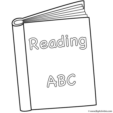 picture books to read reading book coloring page back to school
