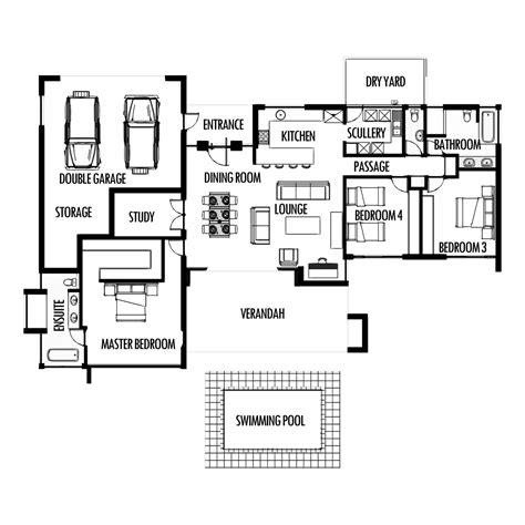 3 floor house plans 3 bedroom 285m2 floor plan only house plans south
