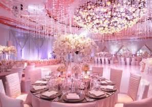 pink decorations beautiful pink wedding ballroom decoration bridal dress
