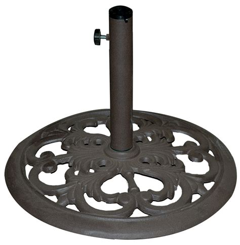 patio umbrellas stands cast iron umbrella base stand 30lb