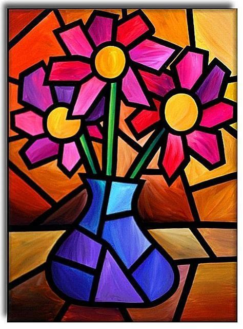picasso paintings described flowers by artist amanda hone design