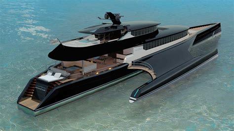 Superyacht Sunday: $47.3 Million Trimaran Superyacht by