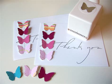 card punches butterfly punch thank you cards jpg flickr photo