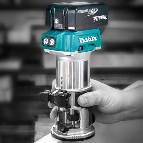 cordless routers woodworking new makita brushless router