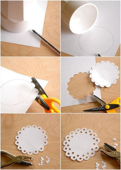 doily crafts for diy craft how to make a doily cards paper