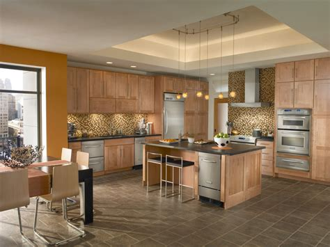 kitchen color ideas with maple cabinets how to kraftmaid kitchen cabinets home and cabinet reviews