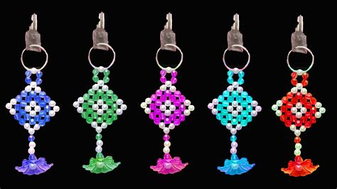 how to make beaded keychains for how to make key chain beaded keychains
