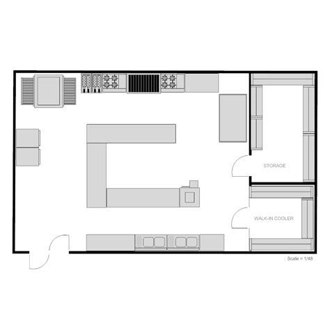 draw kitchen floor plan restaurant kitchen floor plan