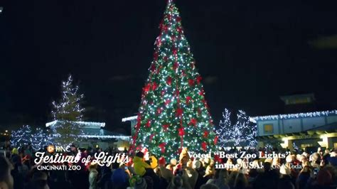 zoo festival of lights pnc festival of lights 2016 commercial cincinnati zoo