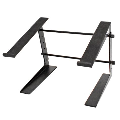keyboard stand for desk seismic audio table top or desk laptop stand steel rack