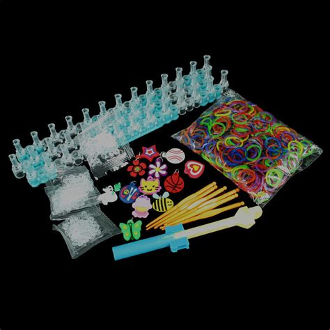 rubber sts arts and crafts 5 000 rubber loom bands diy kit and craft