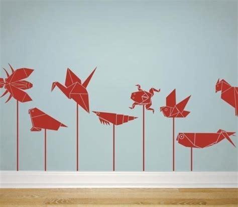 origami decorations 20 origami decor ideas for a room kidsomania