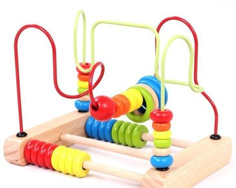 toys with on wires childrens souptoys bead rollercoaster on a wire