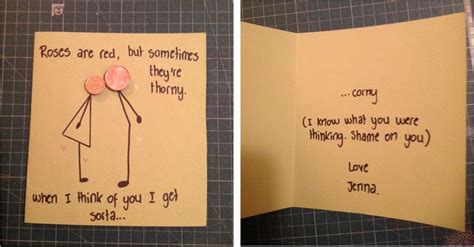 cards to make for your boyfriend boyfriend s birthday card i laughed for like 10 minutes