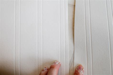 bead board wall paper beadboard wallpaper project part 1 just another