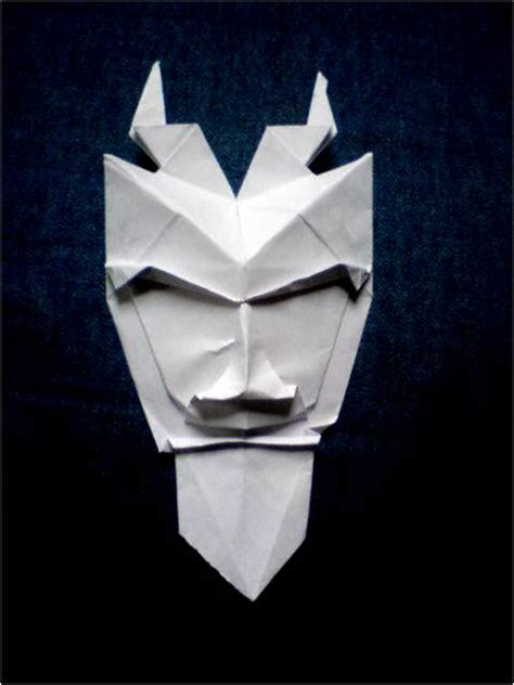 how to make origami mask origami pan mask by silent anton123 on deviantart
