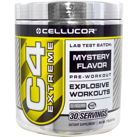 Cellucor, C4 Extreme, Lab Test Batch: Mystery Flavor, 6.2 oz (177 g)   iHerb.com