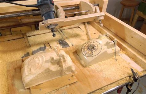 woodworking duplicator router copy carver