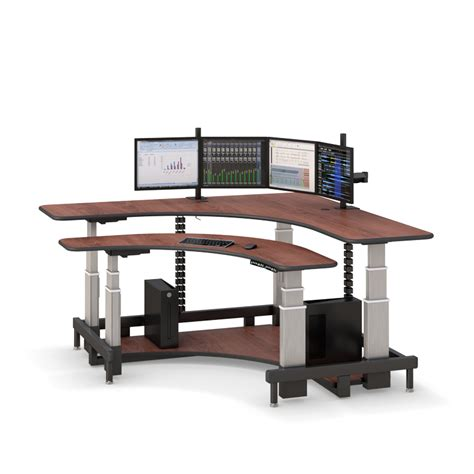 desk standing corner standing computer desk afcindustries