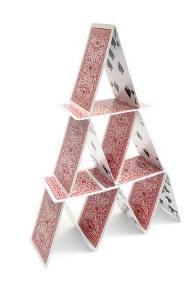 how to make a card pyramid pyramid solitaire card lovetoknow