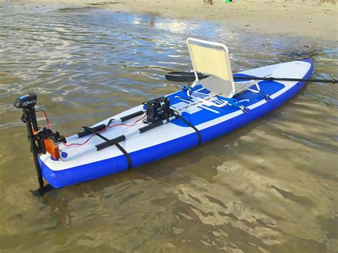 Kayak Electric Motor by Motorized Sup Paddle Board Kit Convert Sup Board Into