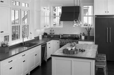 pictures of kitchens with white cabinets and black appliances black and white kitchen cabinets home furniture design