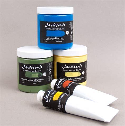 acrylic paints jacksons jacksons artists acrylic colour jackson s