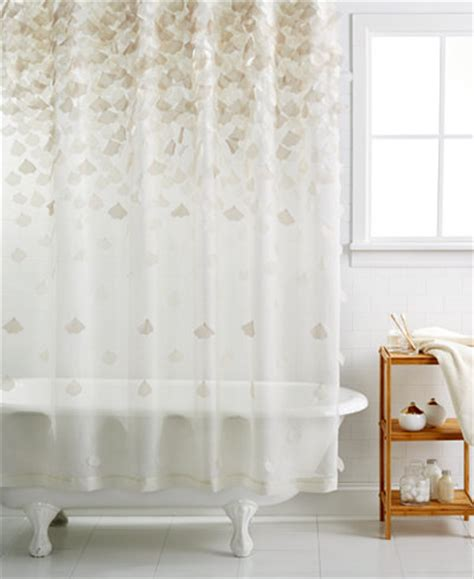 martha stewart kitchen curtains martha stewart collection falling petals shower curtain