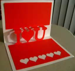 how to make pop up i you card i u pop up for cds clever someday