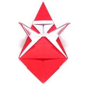 simple origami santa claus how to make a simple origami santa claus page 12