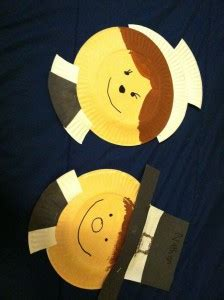pilgrim paper plate craft thanksgiving day craft idea for crafts and