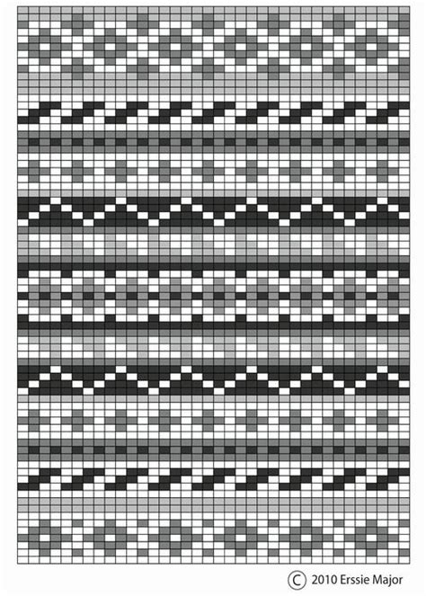 how to chart a knitting pattern 25 unique fair isle chart ideas on tapestry