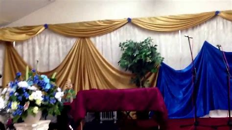 decorations for churches church decor wall draping