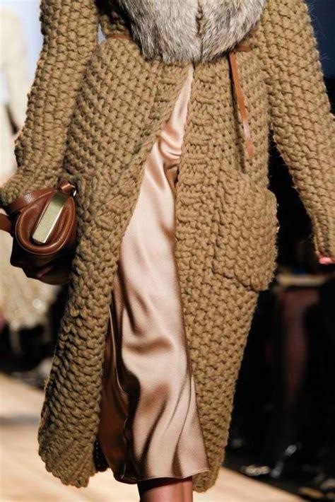 knit coat chunky knit coat from michael kors knitting i