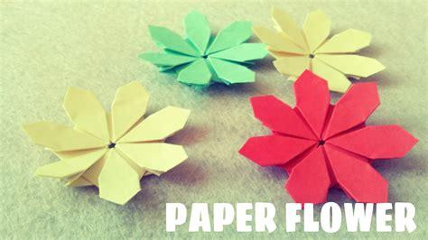 origami paper flower paper flower tutorial origami easy