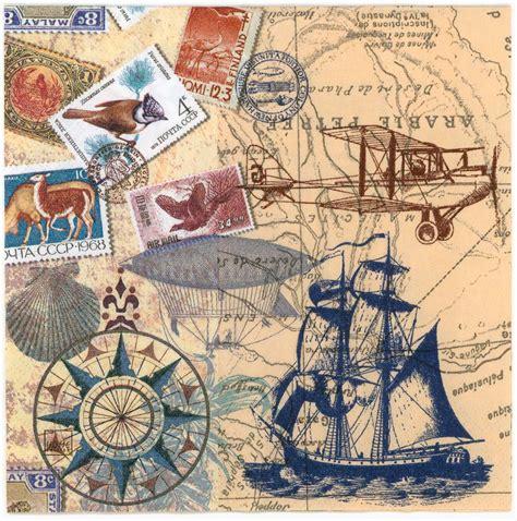 decoupage map paper decoupage paper napkins of vintage travel world map