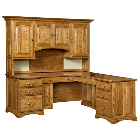 oak desk with hutch oak corner desk with hutch images