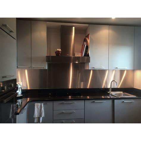 inox autocollant pour cuisine maison design hompot
