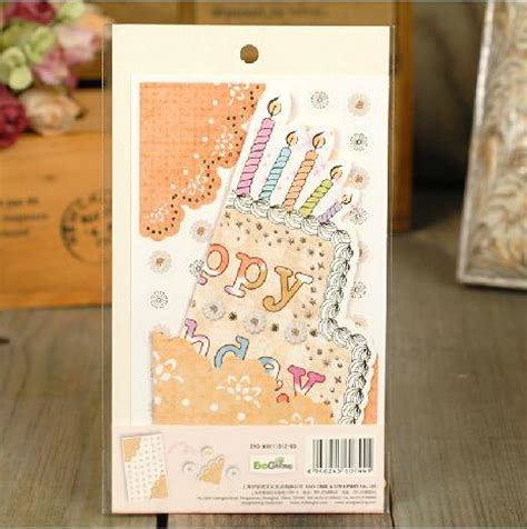 card kits for children creative scrapbooking cards birthday memories paper